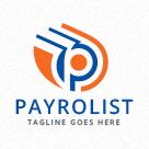 Payrolist - Letter P Logo