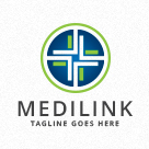 Medilink - Medical Cross Logo