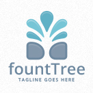Fountree - Fountain Tree Logo