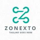 Zonexto - Connecting Dots - Letter Z Logo