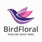 Bird Floral Logo
