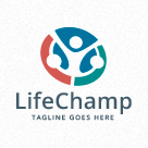Life Champ - People Logo