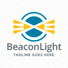 Beacon Light - Lighthouse Logo