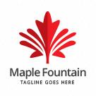 Maple Leaf Fountain Logo