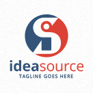 Idea Source - Letters IS / SI Logo