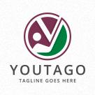 Golf Stick - Letter Y Logo