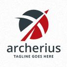 Archery - Bow And Arrow Logo