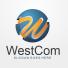 West Com - Letter W 3D Logo