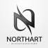 Northart - Letter N Logo