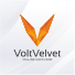 Volt Velvet - Abstract V Logo