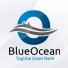 Blue Ocean - Letter O Logo