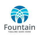 Water Fountain Logo