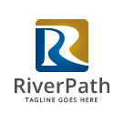 River Path - Letter R Logo