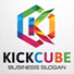 Colorful Letter K Logo