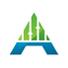 Alpha Stats Letter A Logo