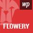 Flowery - Personal WordPress Blog Theme
