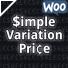 Simple Variation Price for WooCommerce Plugin