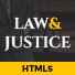 Law and Justice: Attorney Lawyer HTML5 Template