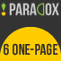 PARADOX - 6 One-Page Sites For Your HTML Projects