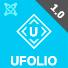 Ufolio - Portfolio Joomla Template