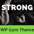 Strong - Fitness WordPress Theme