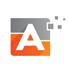 Alpha Pixel Logo Letter A Logo