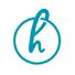 Halogen Shop Letter H Logo