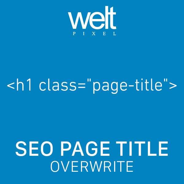SEO Page Title Overwrite For Magento 2 Preview Image