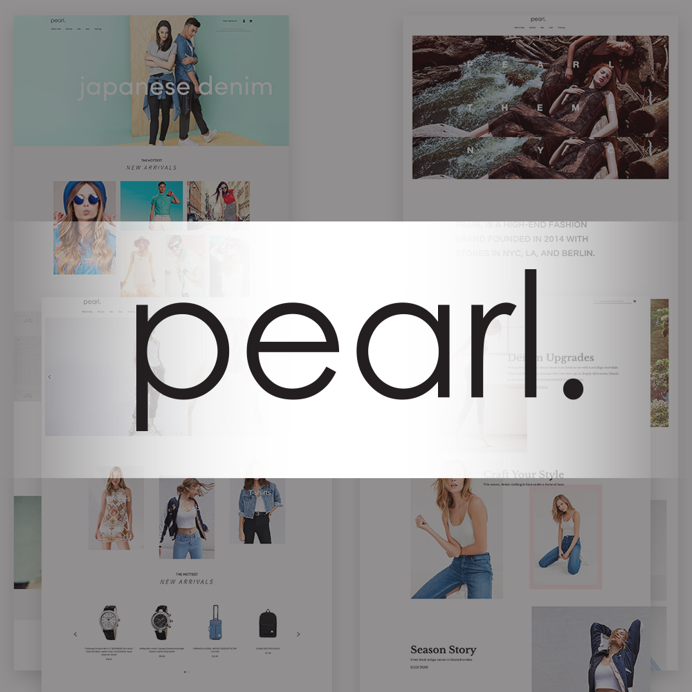 Pearl Responsive Theme for Magento2