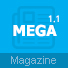 Mega - Magazine WordPress Theme