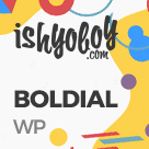 Boldial - Flat Creative Theme with 3D Portfolio