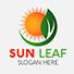 Eco Sun Leaf Logo