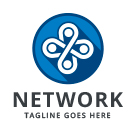 Network - Collaboration - Teamwork Logo