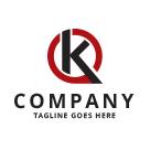 Stylized Letter K Logo
