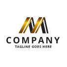 Stylized Letter M Logo