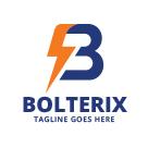 Bolterix - Letter B Bolt Logo
