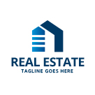 Simple Home - Real Estate Logo