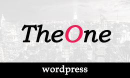 TheOne - Multipurpose WordPress Theme