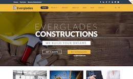 Everglades - Construction WordPress Theme