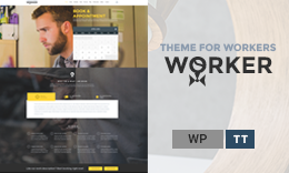 Worker – Small Business Booking WordPress Theme