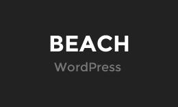 Beach - WordPress Blogging Theme