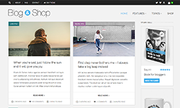 Blog & Shop — Multi-Purpose WordPress Theme