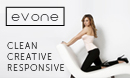 Evone - Clean / Creative / Wordpress Theme