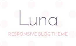Luna - WordPress Blog Theme