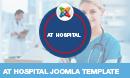 AT Hospital – Medical / Hospital Joomla Template