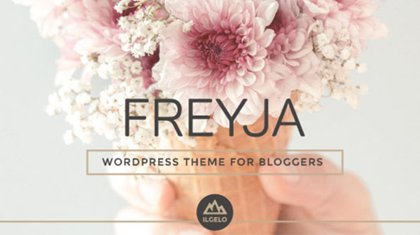 FREYJA - Personal WordPress Theme for Bloggers