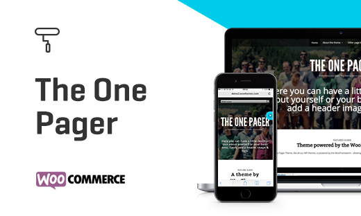 The One Pager - WordPress Theme by WooThemes