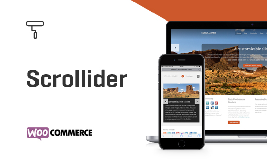 Scrollider - A Business, Portfolio, & Blogging Theme by WooThemes
