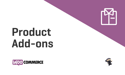 Product Add-ons - WooCommerce Add-on