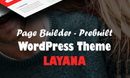 Layana - One/Multi Page WordPress Theme